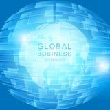 Konzept des globalen Geschäfts Stockbilder