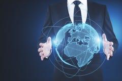 Konzept des globalen Geschäfts Stockfoto