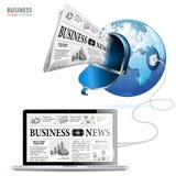 Konzept des globalen Geschäfts Lizenzfreie Stockfotos