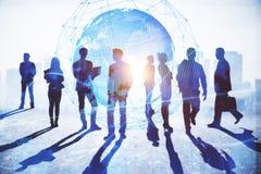 Konzept des globalen Geschäfts und des Erfolgs lizenzfreie stockfotos
