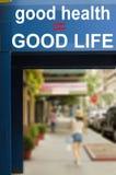 Konzept des guten Lebensmittels und der guten Gesundheit Lizenzfreie Stockfotos