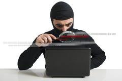 Hacker Lizenzfreies Stockbild