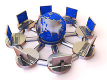 Konzept des Internets Lizenzfreies Stockbild