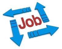 Konzept des Jobs Lizenzfreie Stockfotos