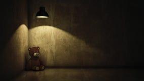 Konzept des Kindesmißbrauches Stockfoto