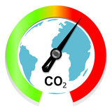 Konzept des Klimawandels und der globalen Erwärmung Lizenzfreies Stockbild