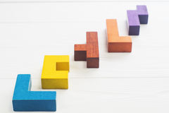 Konzept des kreativen, logischen Denkens oder des Lösens von Problemen stockfotos