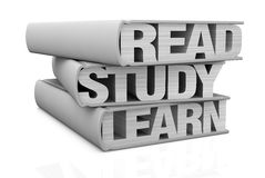 Konzept des Lernens Lizenzfreies Stockbild