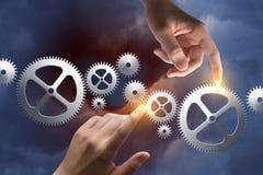 Konzept des Managements des Geschäftsprozesses lizenzfreies stockfoto