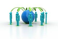 Konzept des Netzes des globalen Geschäfts Lizenzfreie Stockfotos