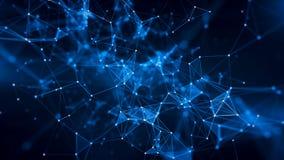 Konzept des Netzes, Internet-Kommunikation Stockfoto