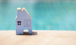 Konzept des neuen Hauses Lizenzfreies Stockbild