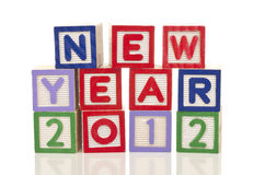 Konzept des neuen Jahres Stockfotos