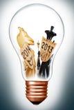 Konzept des neuen Jahres Stockfoto