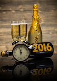 Konzept des neuen Jahres 2016 Stockfoto