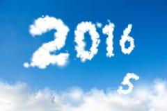 Konzept 2016 des neuen Jahres Stockbilder