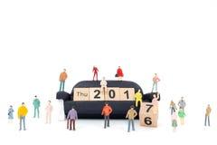 Konzept des neuen Jahres Stockbilder