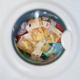 Konzept des schmutzigen Geldes Lizenzfreie Stockfotografie