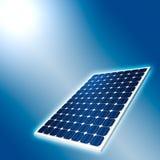 Konzept des Sonnenkollektors Stockbild