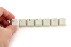 Konzept des Supports Stockbilder