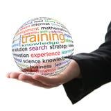 Konzept des Trainings stockfoto
