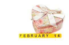 Konzept des Valentinstags Lizenzfreies Stockfoto