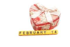 Konzept des Valentinstags Stockfoto