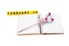 Konzept des Valentinstags Lizenzfreies Stockbild