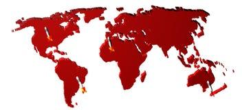 Konzept des Weltmarktes. Stockfotos
