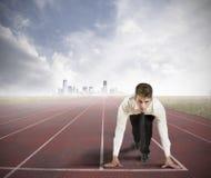 Geschäfts-Wettbewerb Stockfotografie