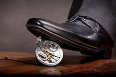 Konzept: die Zeit verbracht Lizenzfreies Stockfoto