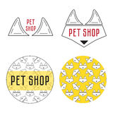 Konzept für Geschäft für Haustiere Stockfotos