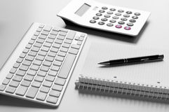 Konzept für Geschäft und Buchhaltung Stockbild