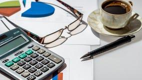 Konzept für Geschäft und Buchhaltung Lizenzfreie Stockfotografie