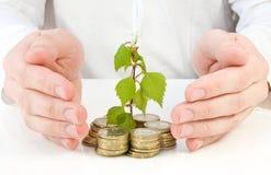 Konzept für gute Investition Stockfotos