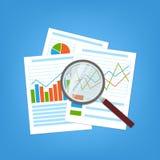 Konzept für Unternehmensplanung und Buchhaltung Stockbilder