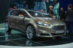 Konzept Fords S-MAX - Weltpremiere Lizenzfreie Stockfotografie