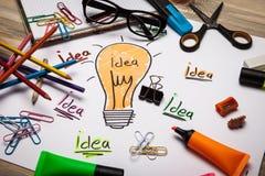 Konzept für Inspiration Lizenzfreies Stockbild