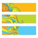 Konzept für Rio 2016, Brasilien, in den Farben von Rio Olympic-Spielen Sommerelemente in dotwork Art Fahne, Schablone, Plakat für Stockfotografie