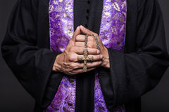 Konzept: Gebet stockfoto