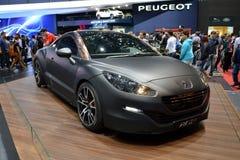 Konzept Genf 2013 Peugeots RCZ R Lizenzfreie Stockfotografie
