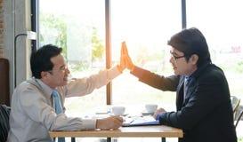 Konzept-Geschäftsgespräch entspannen sich lizenzfreie stockbilder