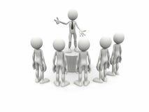 Konzept: Geschäftslernen Stockfotos
