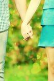 Konzept geschossen von der Freundschaft und von der Liebe Stockfotos
