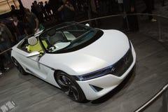 Konzept Honda-EV-Ster - Genf-Autoausstellung 2012 Stockfotografie