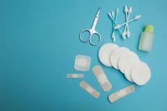 Konzept - Hygiene Hintergrund für eine Einladungskarte oder einen Glückwunsch stockfotografie