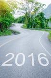 Konzept mit 2016 Zielen Lizenzfreies Stockfoto
