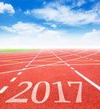 Konzept mit 2017 Zielen Lizenzfreie Stockfotos