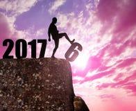 Konzept-neues Jahr 2017 Lizenzfreie Stockfotos