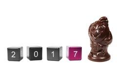 Konzept-neues Jahr 2017 Lizenzfreies Stockfoto